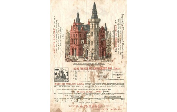 1893 US Catalog G. A. Schwarz