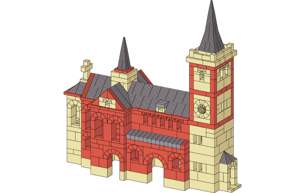 Odenthal church architectural plan