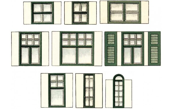 Window and door ornamentation