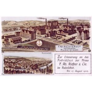 1912 factory plan postcard