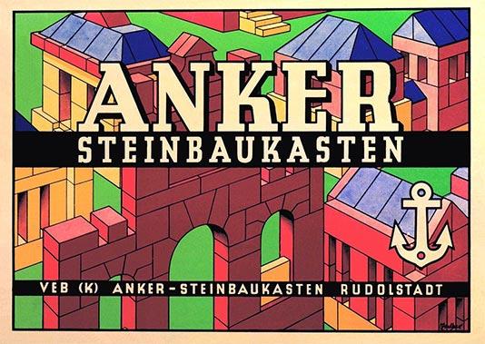 A GDR era poster for Anchor Stones