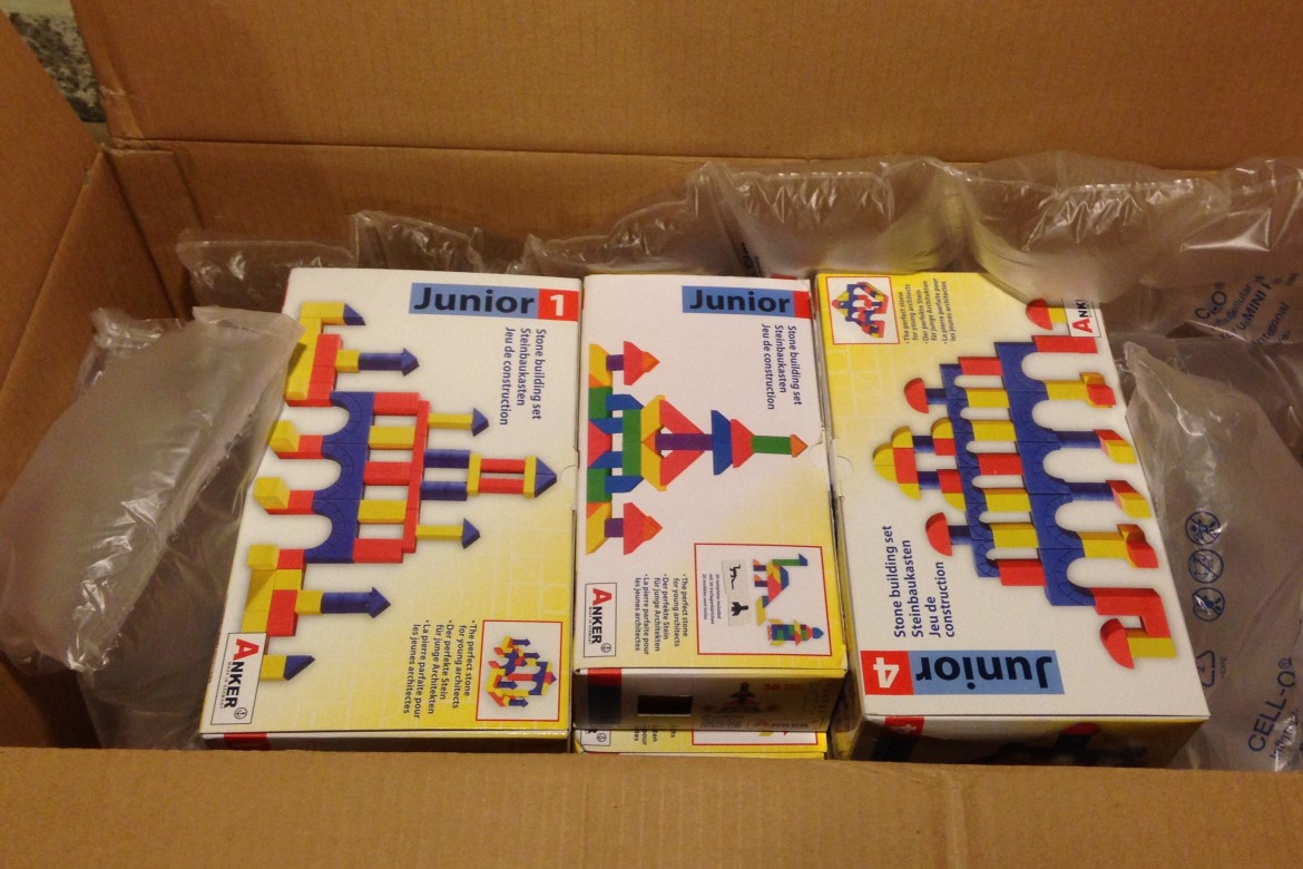 Unboxing the new Anchor Junior product