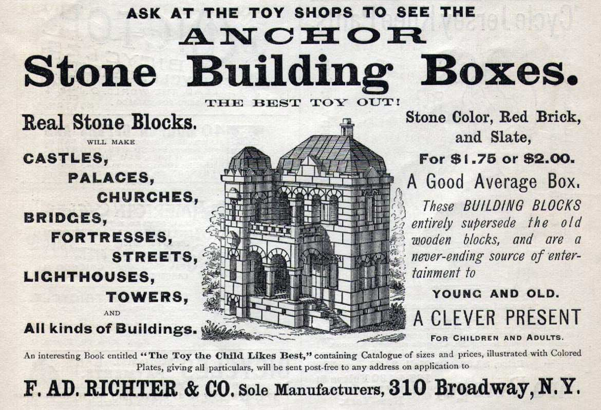 An early Anker ad with NY address