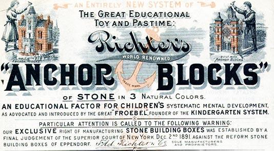 Anchor Block advertisement