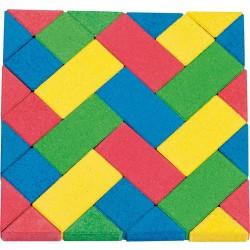 Lelona mosaic puzzle blocks