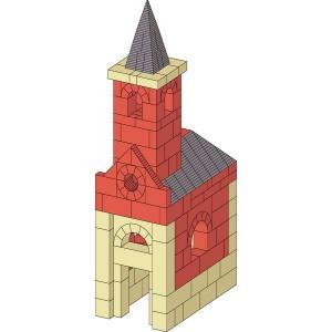 Rókarántói Chapel architechural plan
