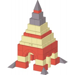 Small pyramid monument