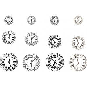 Clocks ornamentation