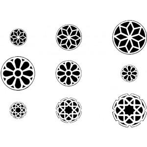 Rosettes ornamentation