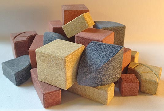 Replacement stones for Anchor Stone building block sets