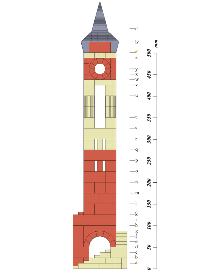 Anchor Stone tall tower plans