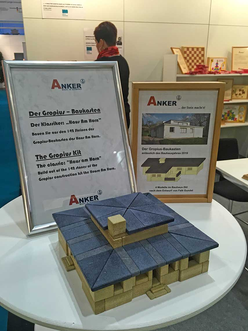 Anchor Stone booth at Nuremberg Toy Fair 2019
