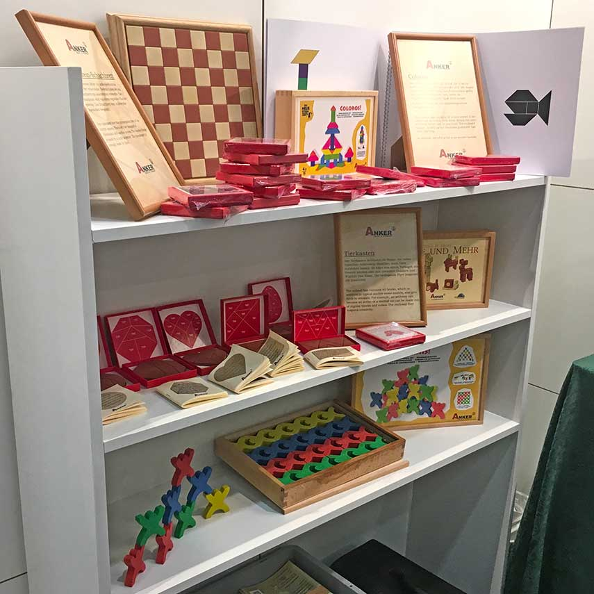 Anchor Stone childrens set display at Nuremberg 2019